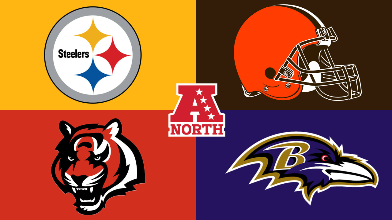 AFC North Steelers Browns Bengals Ravens