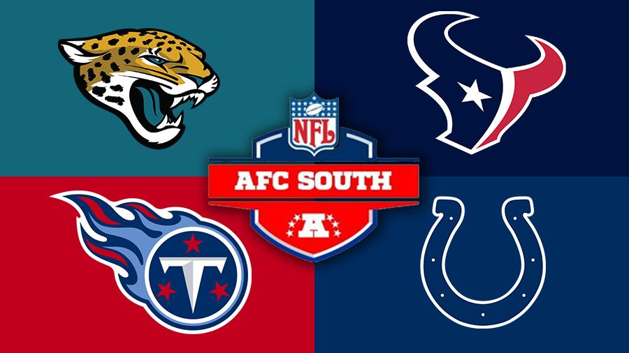 AFC South Jaguars Texans Titans Colts