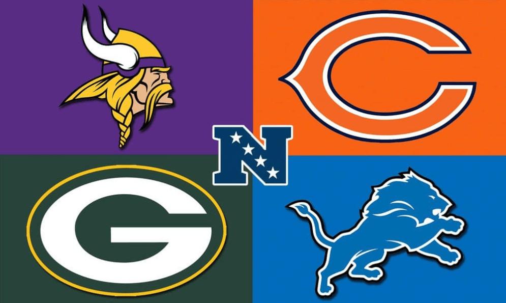 Minnesota Vikings Chicago Bears Green Bay Packers Detroit Lions