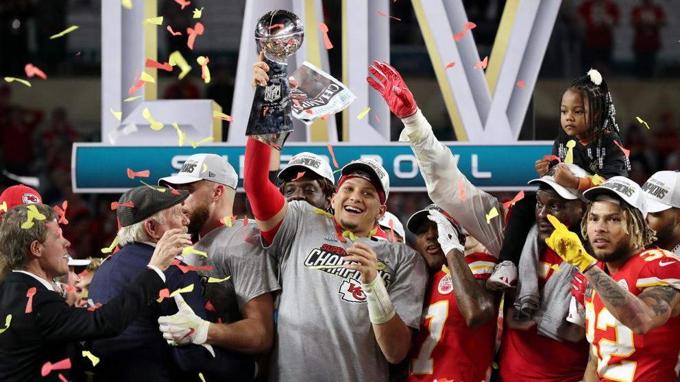 Patrick Mahomes Kansas City Chiefs Super Bowl