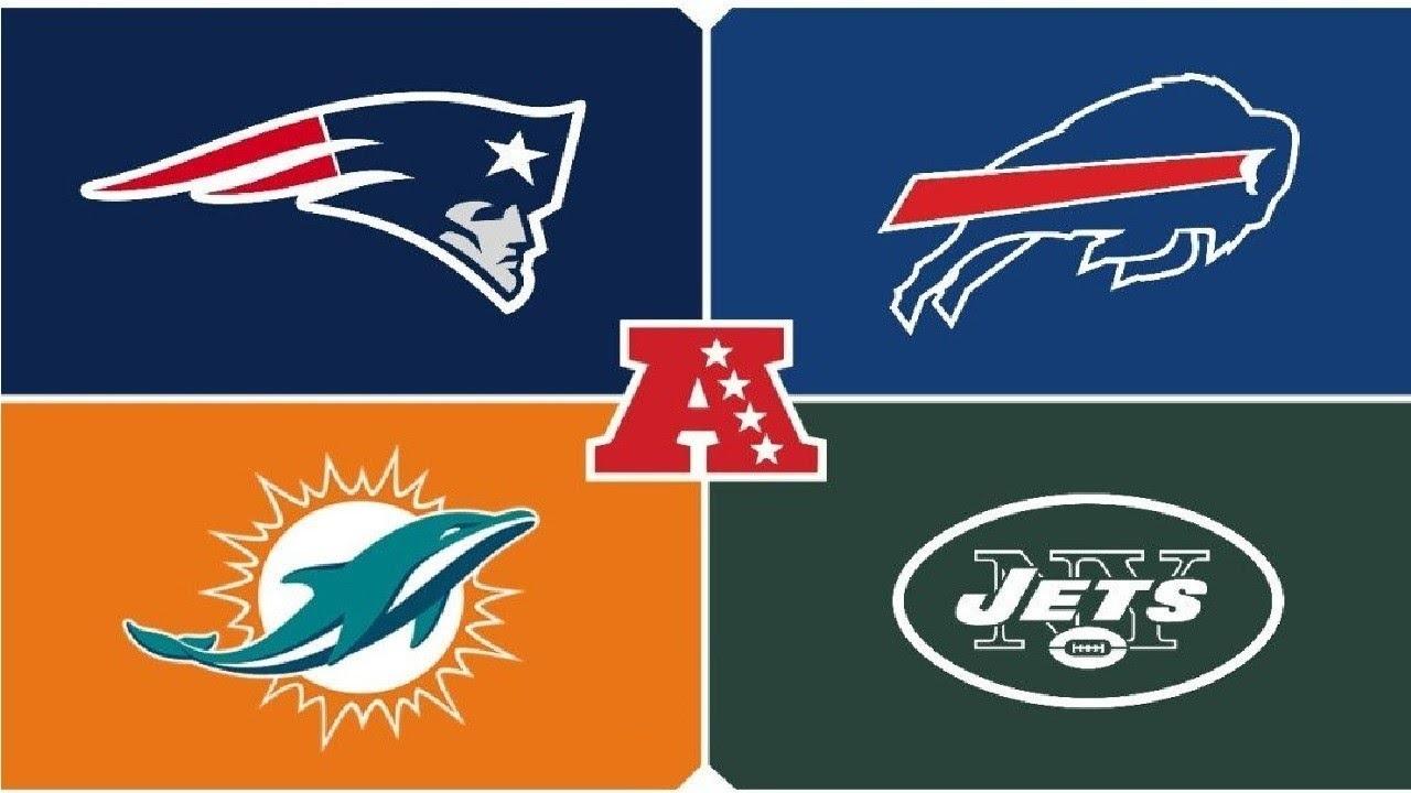 New England Patriots Buffalo Bills Miami Dolphins New York Jets