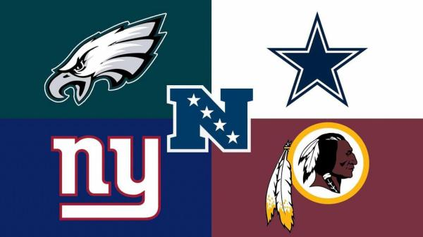 NFC East Eagles Cowboys Giants Redskins