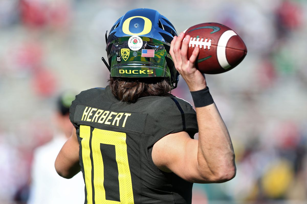 Justin Herbert NFL Draft