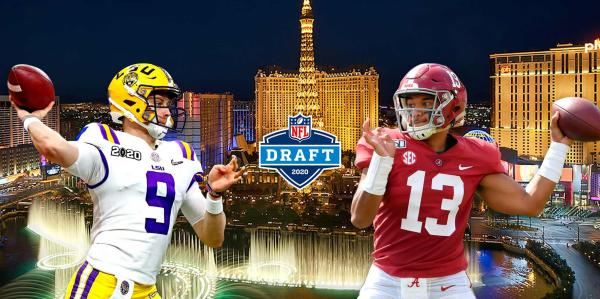 Joe Burrow Tua Tagovailoa NFL Draft Prop Bets