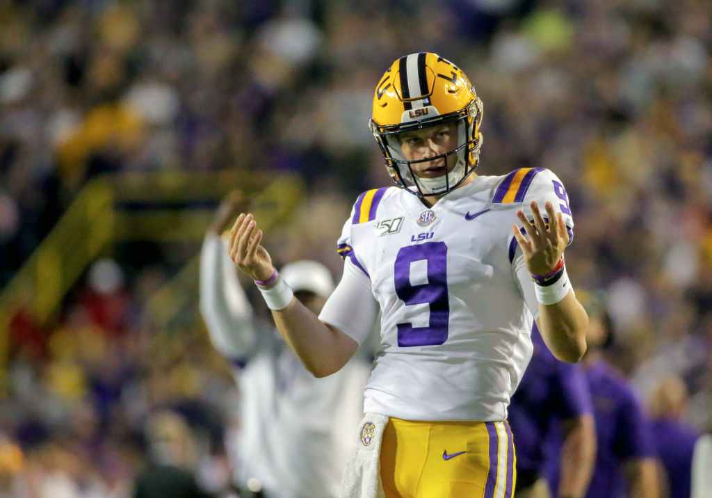Joe Burrow Dynasty Fantasy Football Rookie Draft
