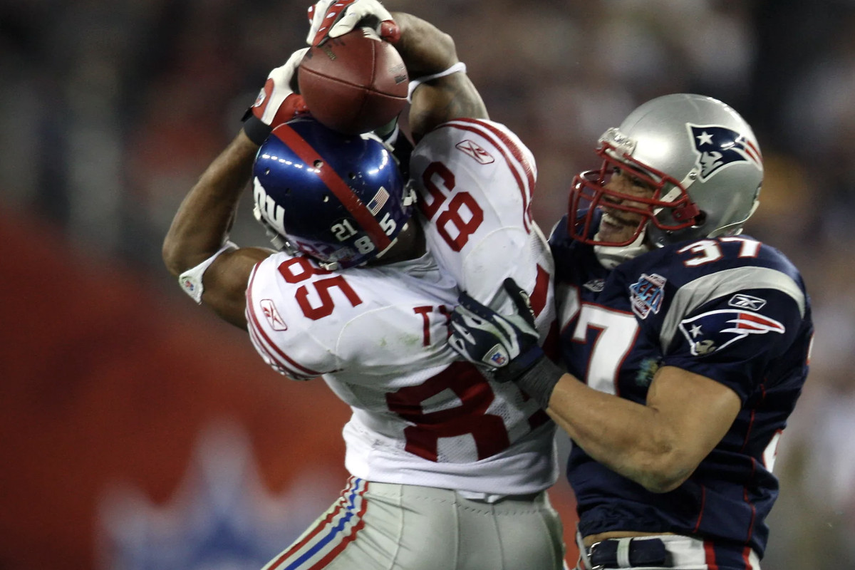 David Tyree's Super Bowl catch ruined the Patriots perfect season