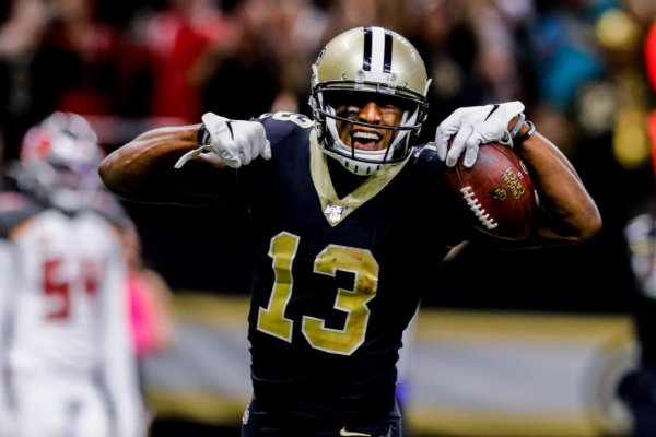 Michael Thomas once again leads the way at receiver this fantasy football season