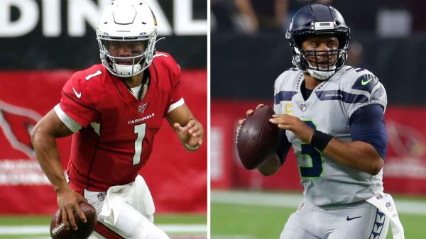 Kyler Murray and Russell Wilson as top QB's in fantasy football for 2020
