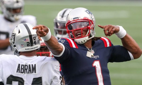 Cam Newton leads the Patriots into a highly-anticipated battle Sunday against the Kansas City Chiefs