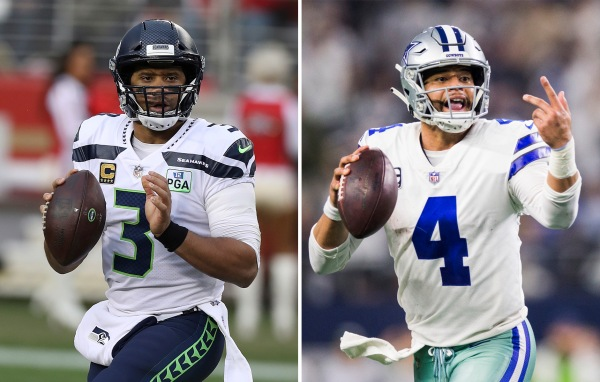 Russell Wilson and Dak Prescott are set to square off in one of week three's most highly-anticipated matchups