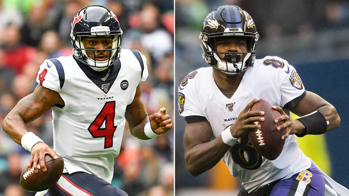 Deshaun Watson and Lamar Jackson square off in a week two battle