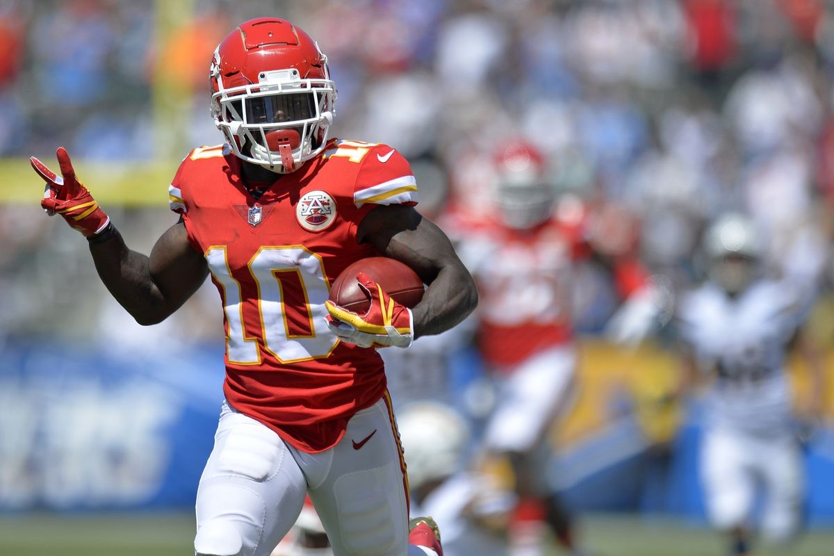 Tyreek Hill remains the league's best deep threat and one of the best fantasy options for 2021