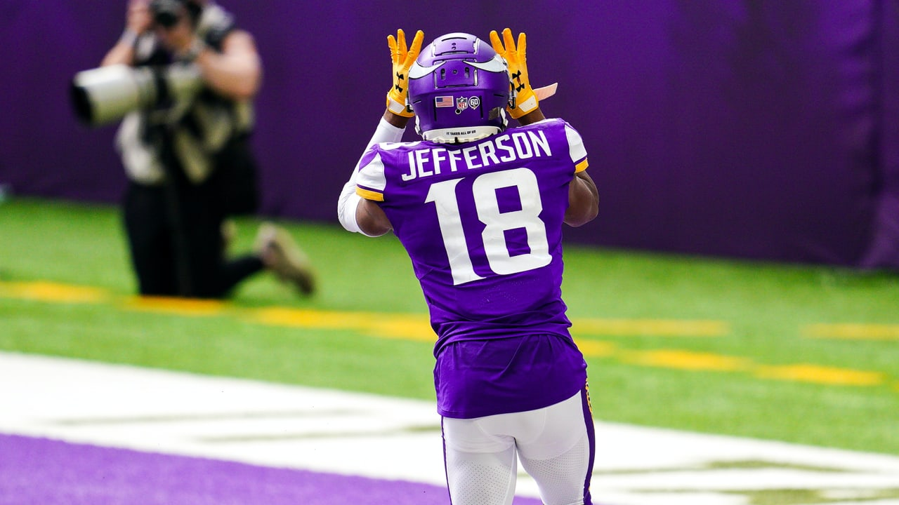 Justin Jefferson has been lights out for the Vikings so far this fantasy football season