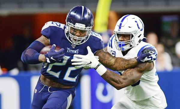 Derrick Henry and the Titans are set for a rematch against the Colts in Week 12