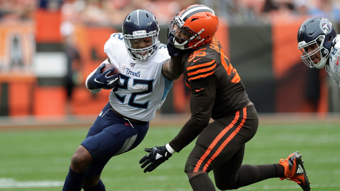 Derrick Henry is set to face the Cleveland Browns this week