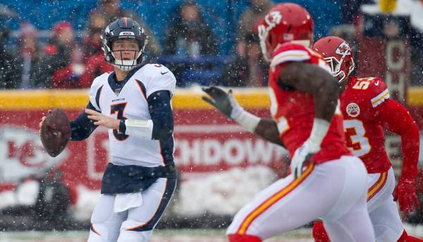 Drew Lock has been playing well recently for the Denver Broncos