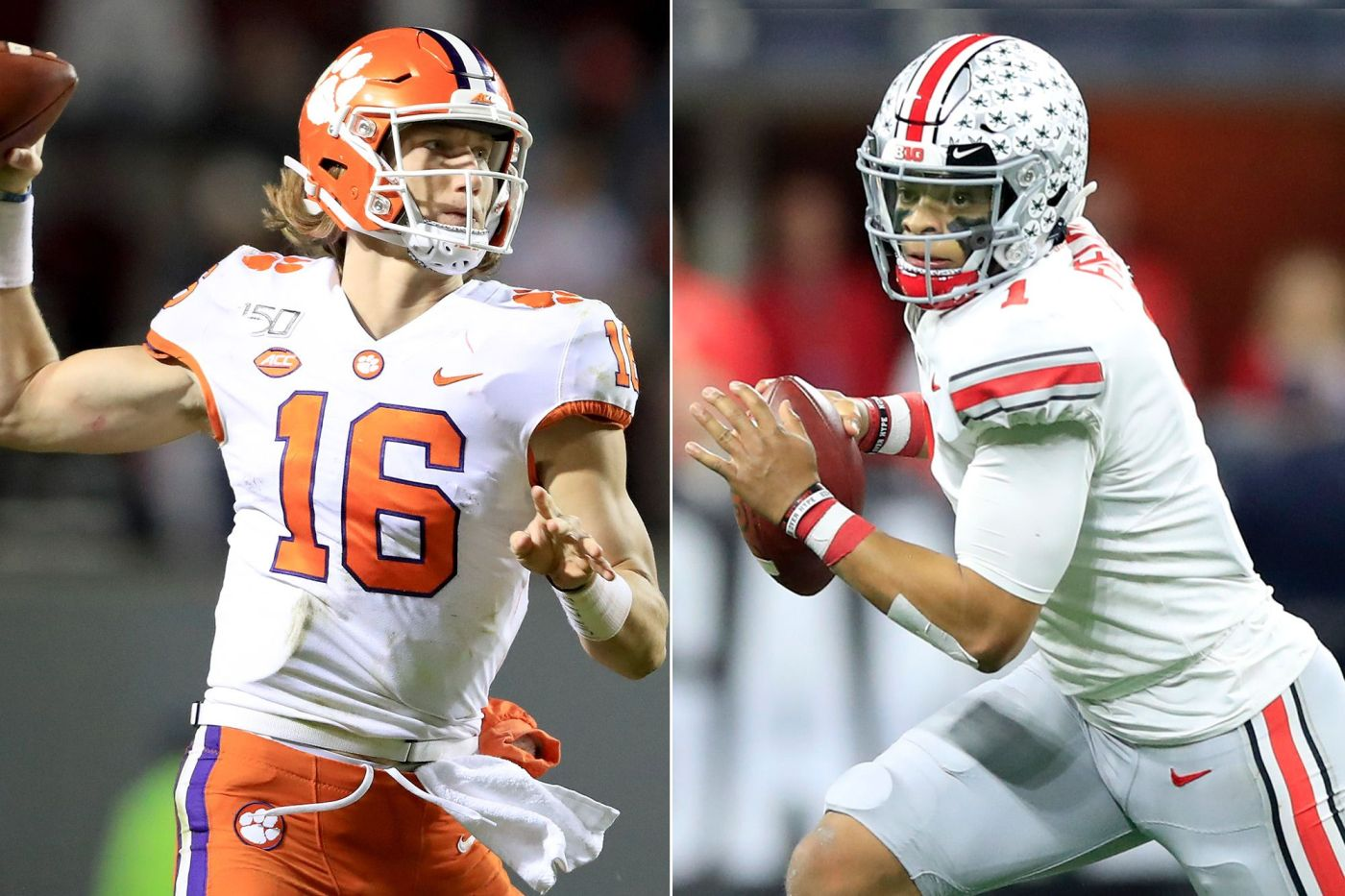 Trevor Lawrence & Justin Fields expect to hear their names called early in the 2021 NFL Draft