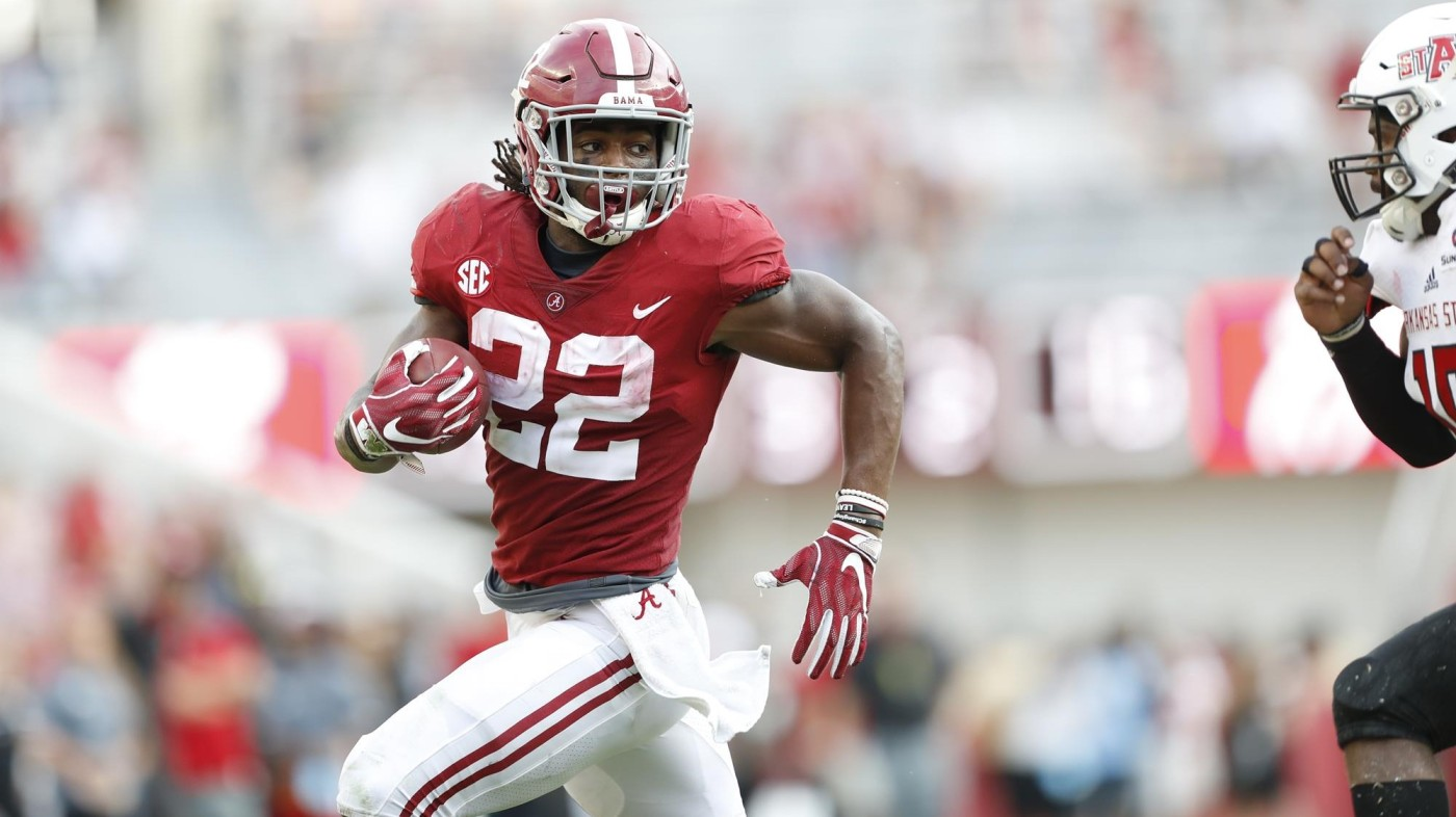 Najee Harris is likely a top-2 pick in 2021 rookie drafts