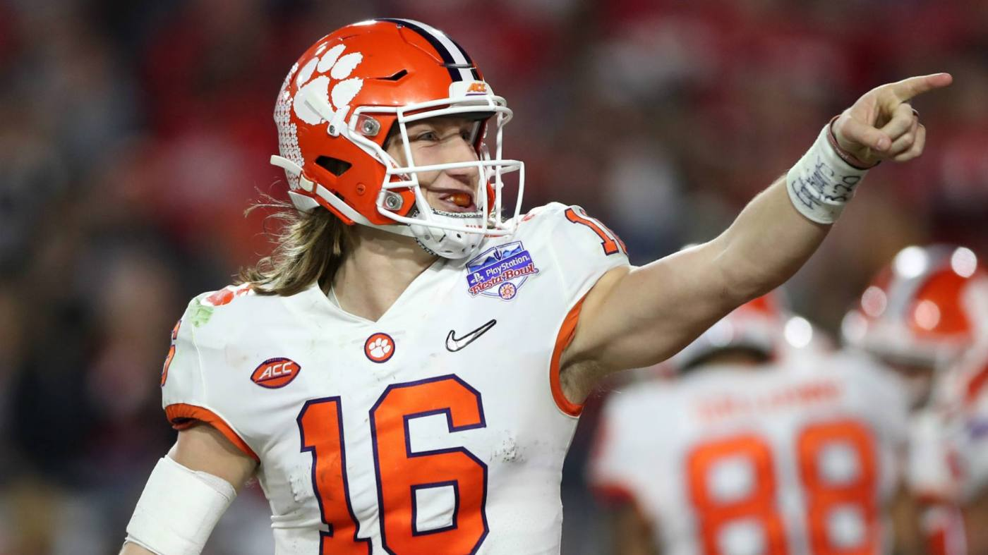 Trevor Lawrence leads the way as the 2021 NFL Draft's top prospect