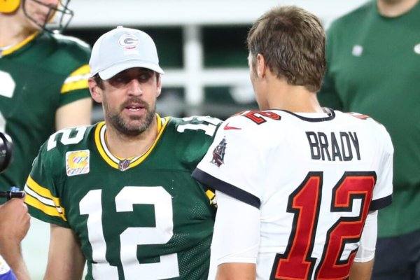 Aaron Rodgers and Tom Brady are set to square off in the NFC Championship game this Sunday