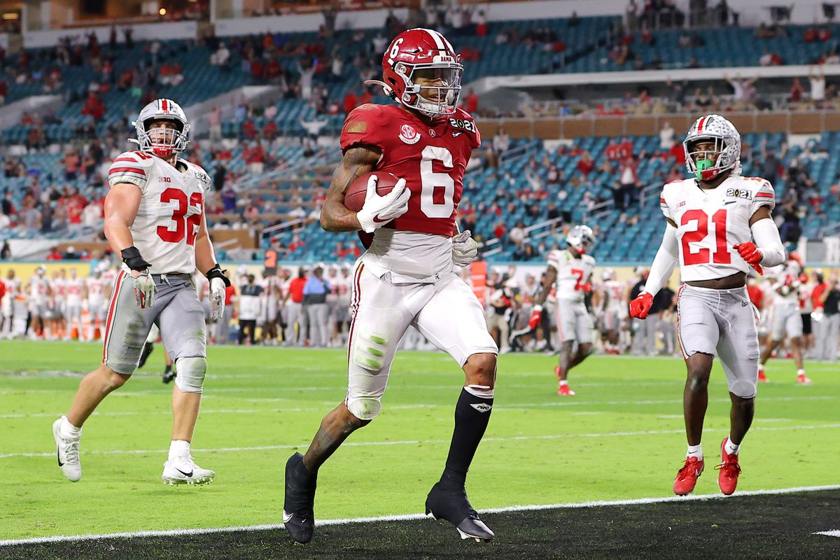 Alabama's DeVonta Smith is expected to be one of the first receivers off the board in the 2021 NFL Draft