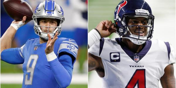 Matthew Stafford and Deshaun Watson both appear to be on the move as we head towards the NFL offseason