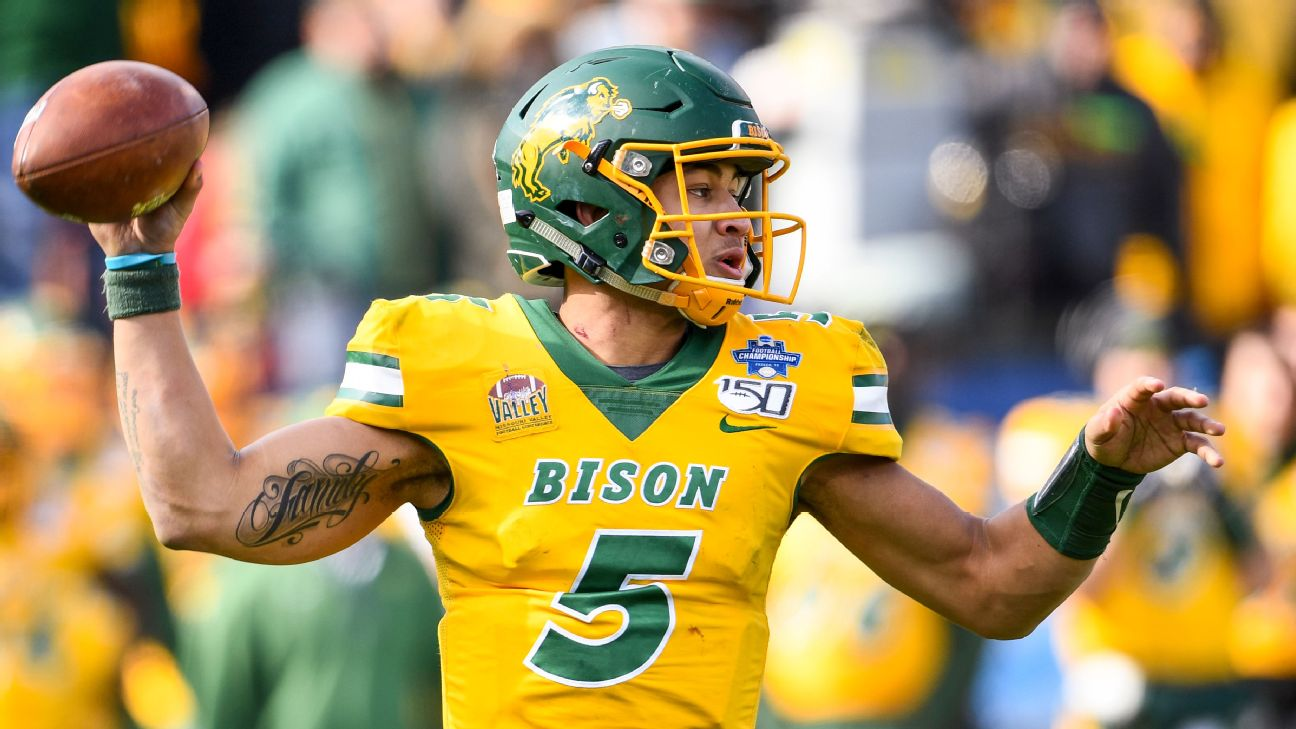 Trey Lance is expected to be a top-10 pick in the 2021 NFL Draft