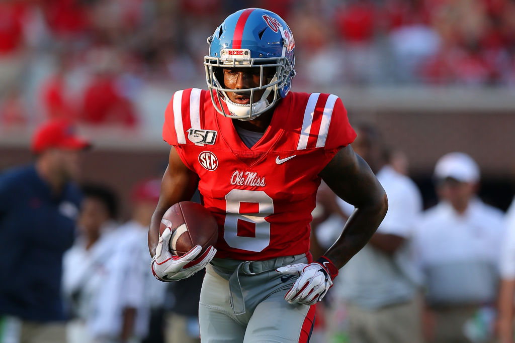 Elijah Moore was a machine last season at Ole Miss and will look to carry that momentum over to whichever team drafts him in the 2021 NFL Draft
