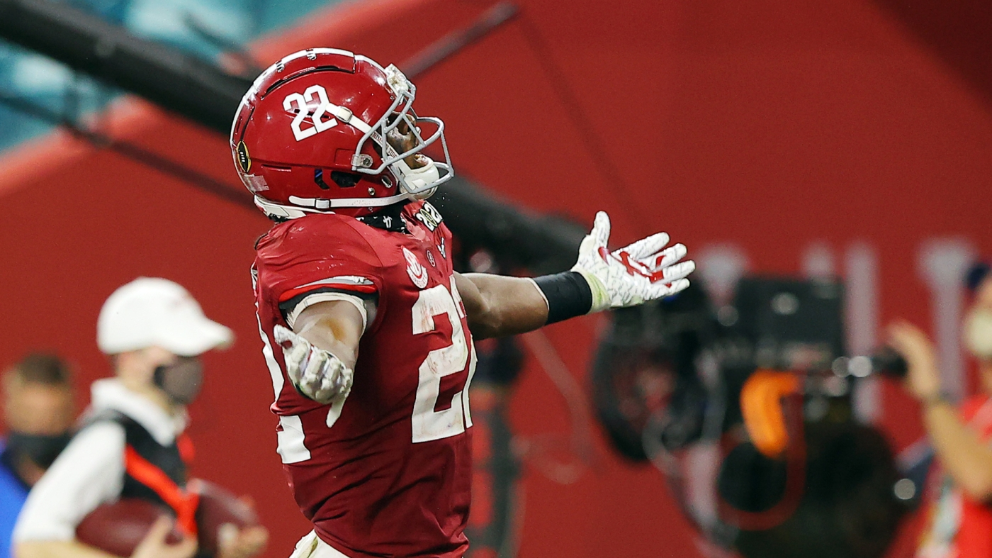 Najee Harris is expected to be one of the first running backs to hear his name called in the 2021 NFL Draft