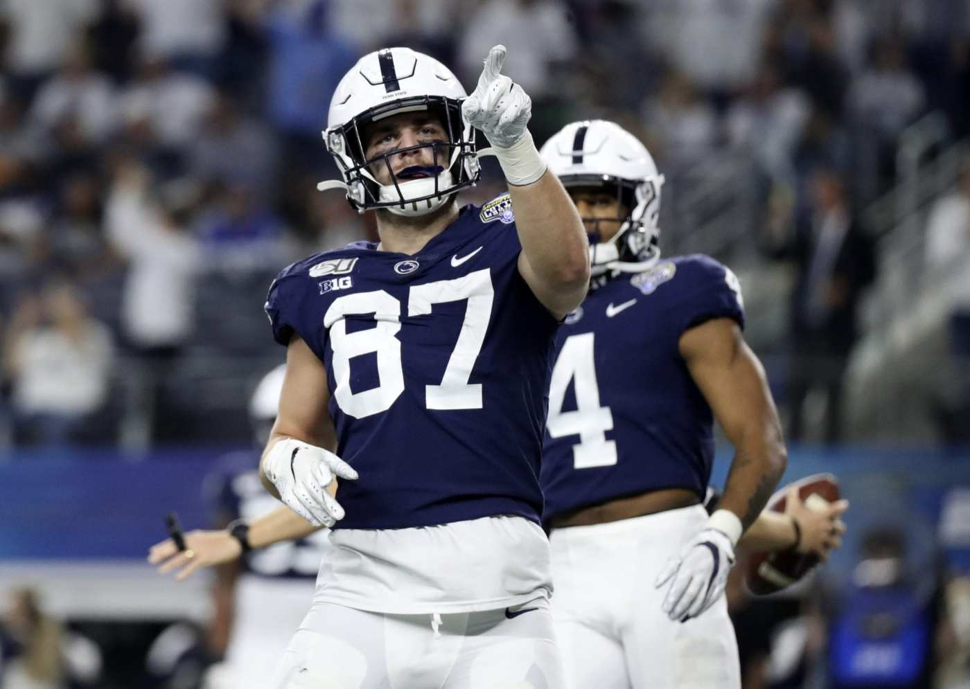Pat Freiermuth is a top-three tight end heading into the 2021 NFL Draft
