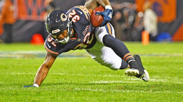 David Montgomery will still receive the bulk of the workload at running back for the Bears in 2021
