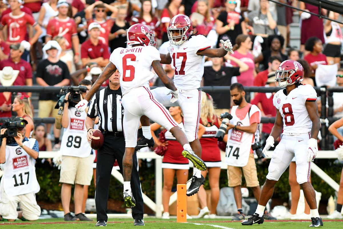 DeVonta Smith and Jaylen Waddle could both hear their name called in the top 10 of the 2021 NFL Draft