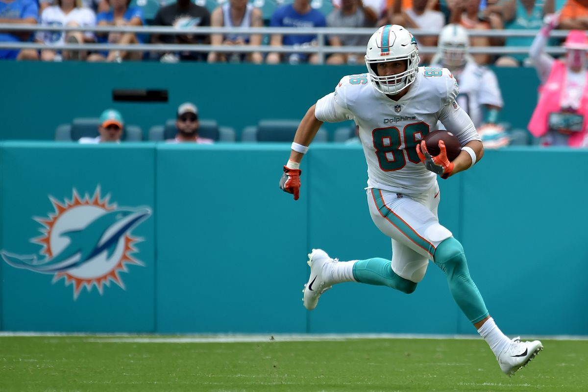 Mike Gesicki has solidified himself as a top-10 fantasy football option at tight end in 2021