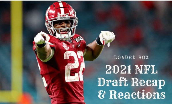 Najee Harris was the first running back selected in the 2021 NFL Draft