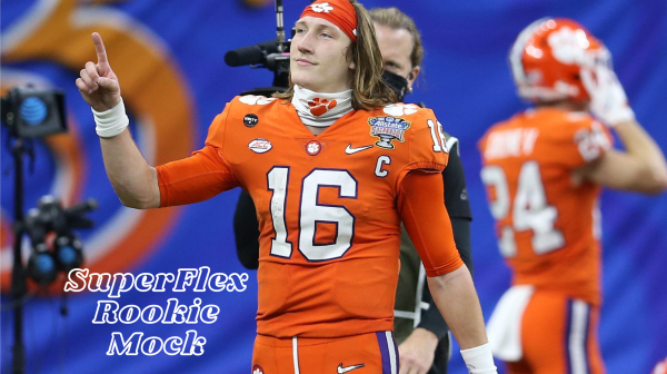 Trevor Lawrence is the consensus 1.01 in SuperFlex dynasty fantasy football leagues